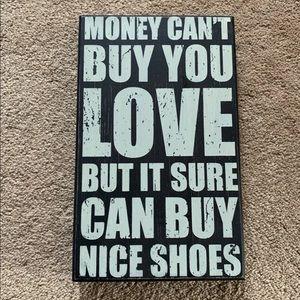 Other - Shoe plaque